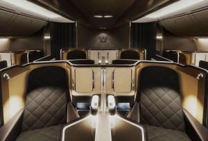 La cabina de avión más lujosa del mundo