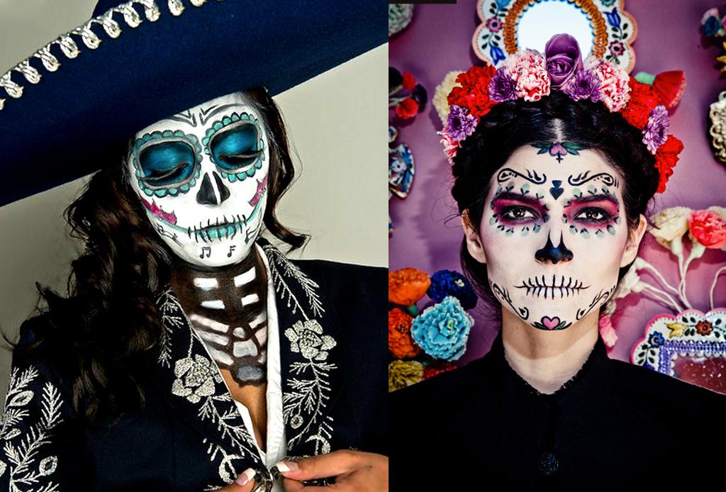 Los mejores make-ups de CATRINA - catrina-muy-mexicana