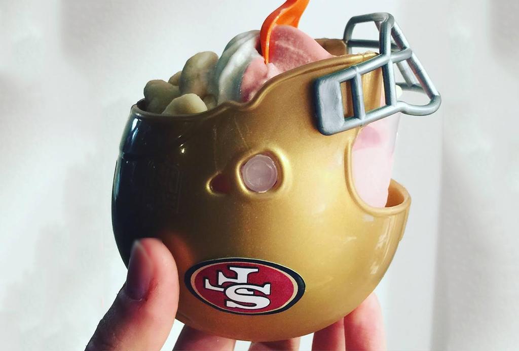 El helado perfecto para ver el Super Bowl