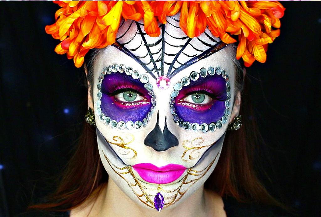 Los mejores make-ups de CATRINA - maquillaje-catrina-basico