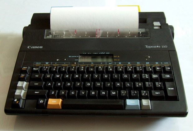 10 gadgets de los 90's que fueron reemplazados por la tecnología - maquina-de-escribir-1024x694