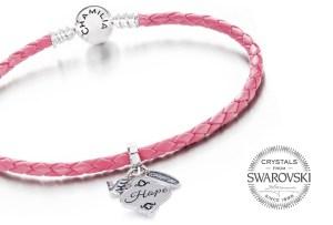 La campaña rosa de Chamilia by Swarovski