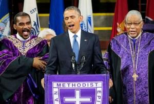 Barack Obama ¿como cantante?