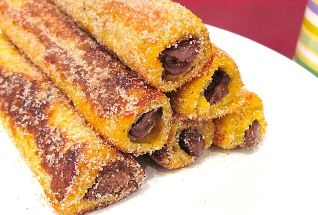 Prepara unos exquisitos rollos de Nutella