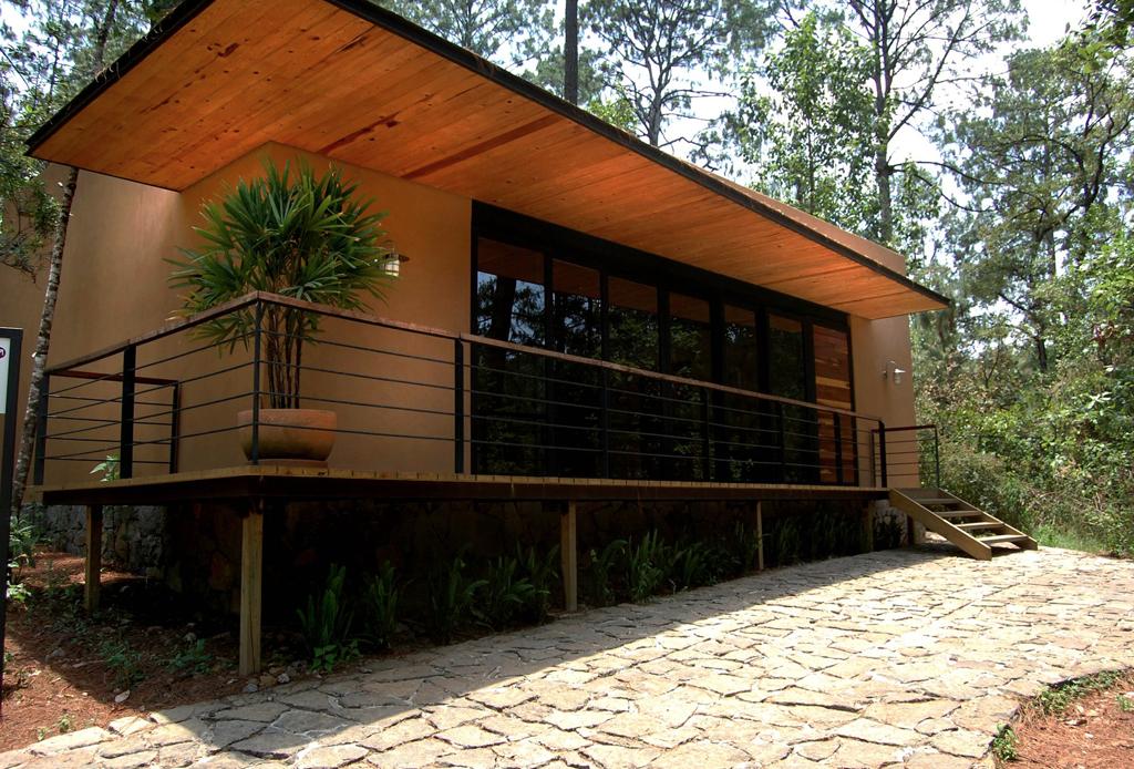 Las caba as de bosque m s exclusivas de m xico - Fotos de bungalows de madera ...