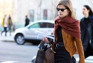 5 creativas formas de usar un foulard