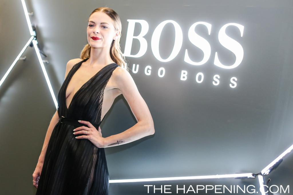 Hugo Boss celebró la reapertura de su tienda en Masaryk