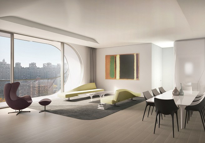 Conoce el primer edificio residencial de Zaha Hadid en Nueva York - zaha-hadid-nueva-york-4