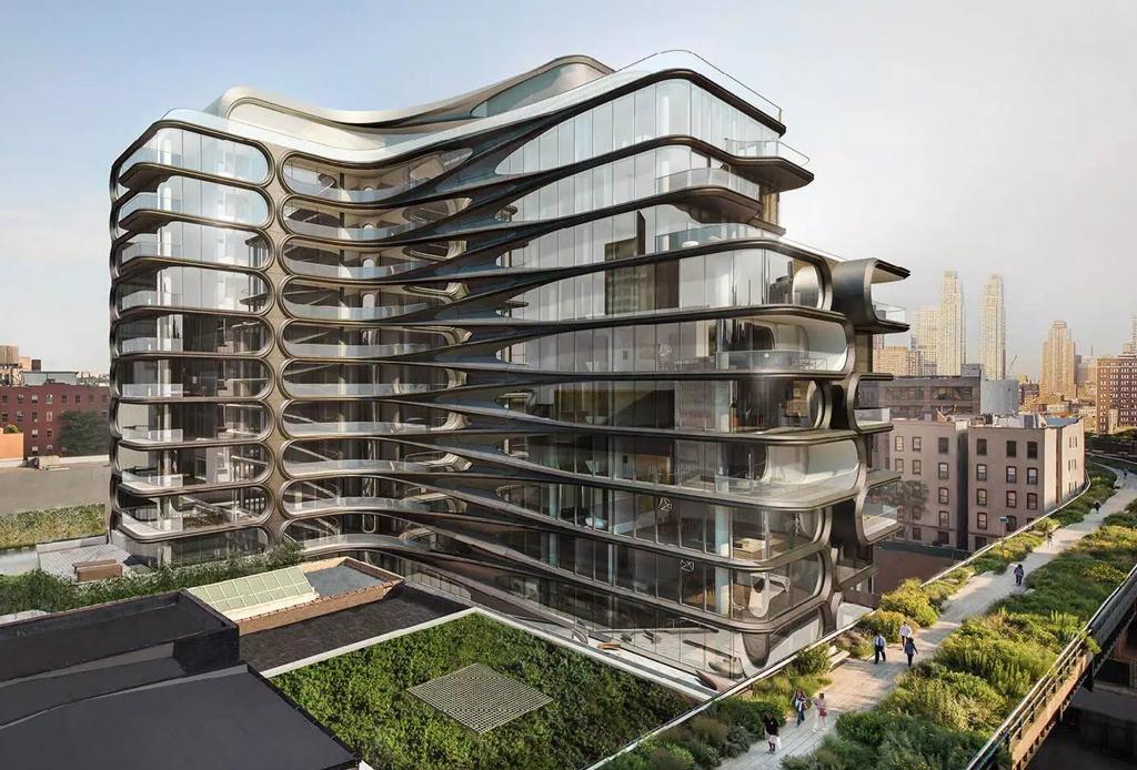 Conoce el primer edificio residencial de Zaha Hadid en Nueva York