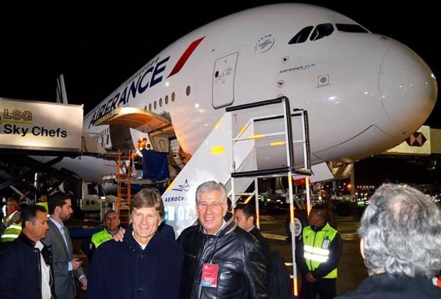 El avión más grande del mundo llegó a México - airbus2-1024x694