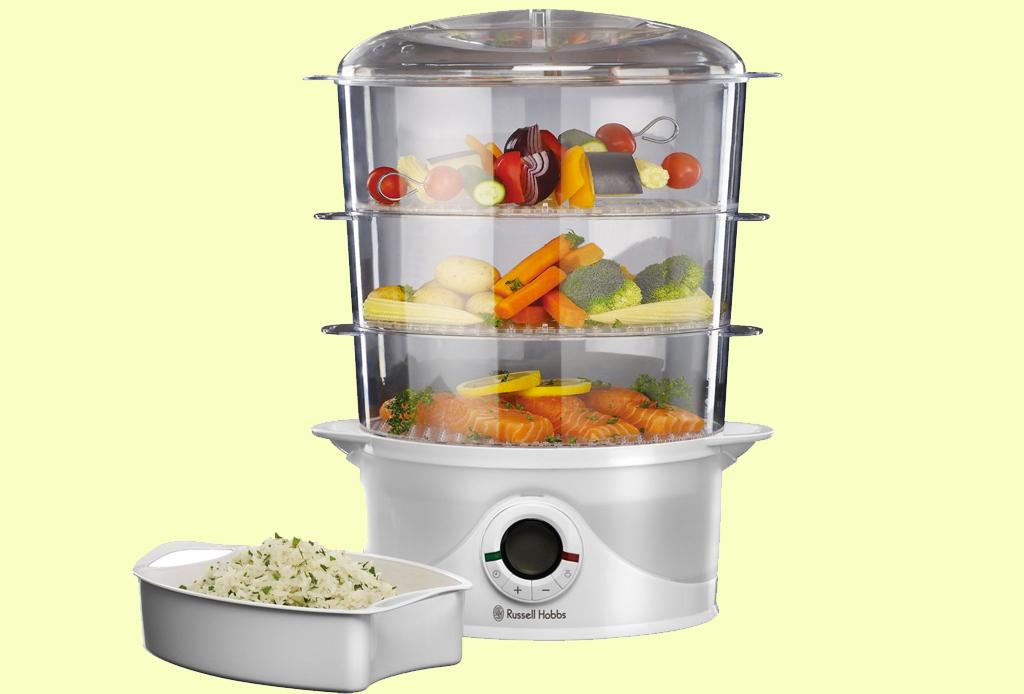 5 gadgets de cocina para preparar platillos healthy - steamer