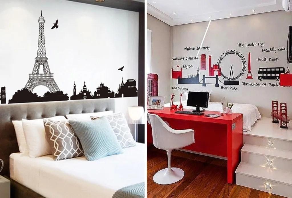 Plasma tu espíritu viajero en la decoración de tu hogar - vinil