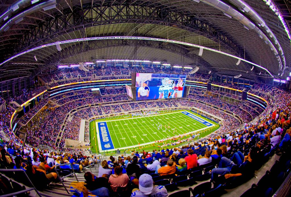 Los 7 estadios más lujosos de la NFL - estadios-mas-lujosos-cowboys