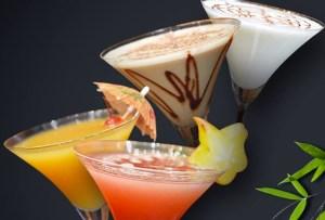 Inicia tu fin de semana con un martini de cacao y menta