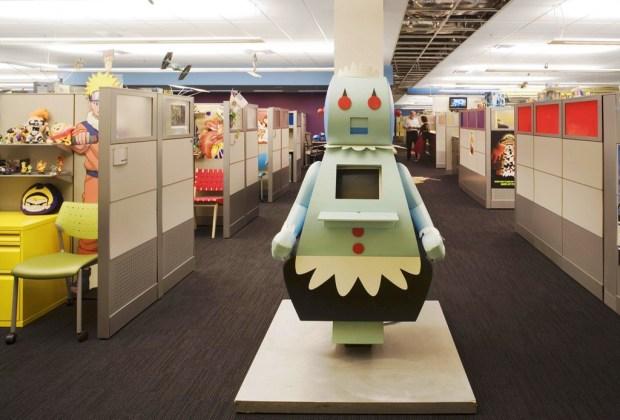 Las 5 oficinas más cool del mundo - oficinas-cartoon-network-1024x694