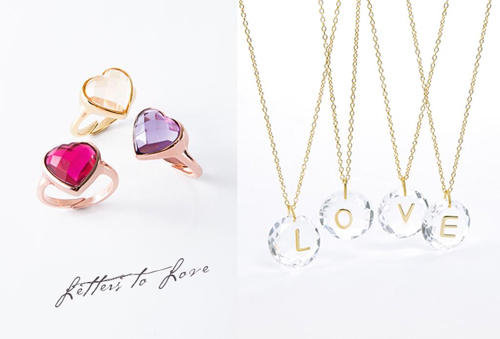 b20f0a941281 La colección especial de «Letters to Love» de Daniel Espinosa tiene las  piezas más originales que encontrarás para esta temporada. Coloridos anillos  ...