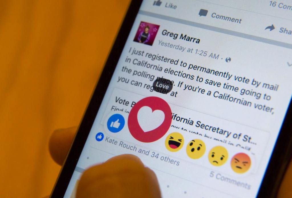 Conoce las nuevas 'reactions' de Facebook cuando das un LIKE