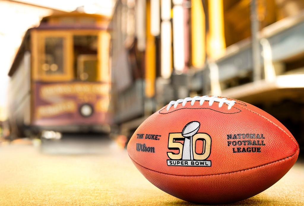 ¡La NFL se pinta de ORO para el Super Bowl 50! - super-bowl-50-oro