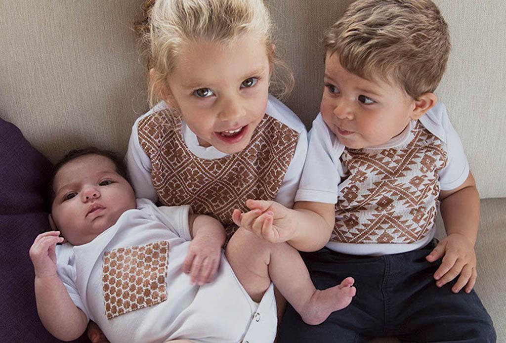 ¡Por fin una colección para bebés con bordados mexicanos!