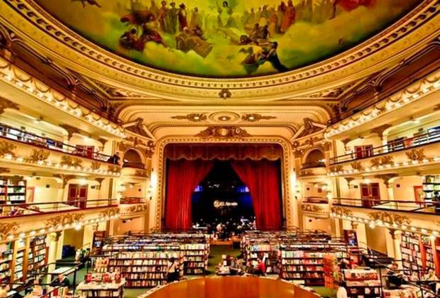 Estas son la librerías más impresionantes del mundo - el-ateneo-1024x694