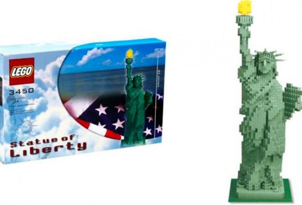 Los 7 sets de Lego más caros del mundo - estatua-de-la-libertad-lego-1024x694