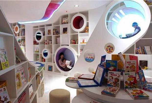 Estas son la librerías más impresionantes del mundo - kids-republic-1024x694