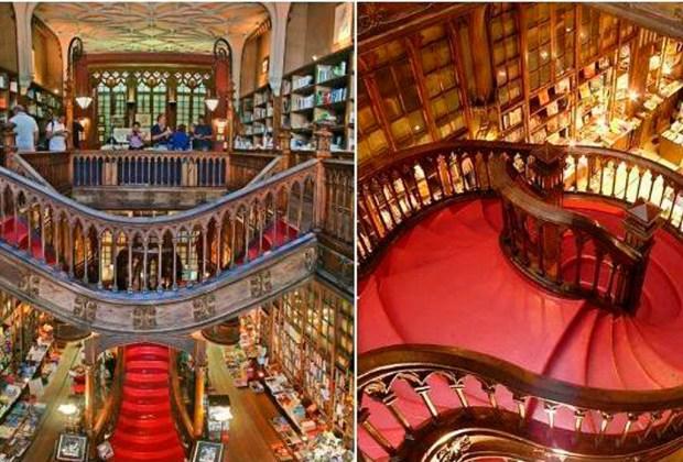Estas son la librerías más impresionantes del mundo - libreria-lello-1024x694