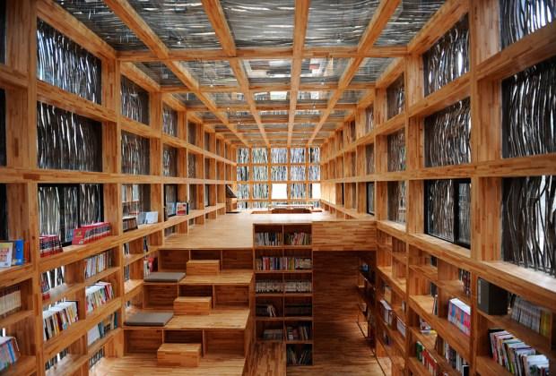 Estas son la librerías más impresionantes del mundo - liyuan-1024x694