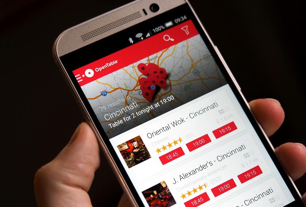 Las 5 apps foodies que necesitas para cualquier viaje - open-table