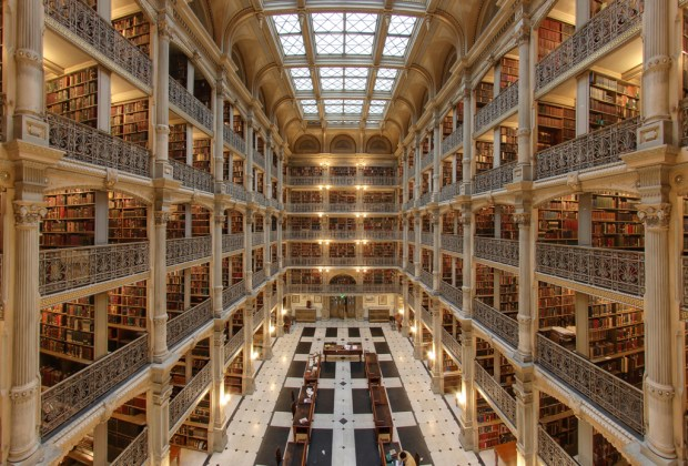 Estas son la librerías más impresionantes del mundo - peabody-1024x694