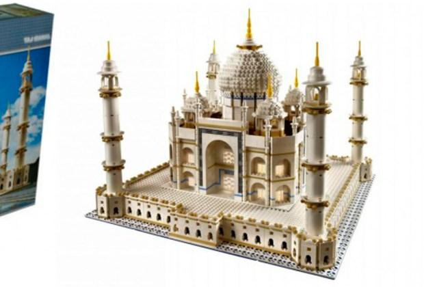 Los 7 sets de Lego más caros del mundo - taj-mahal-lego-1024x694