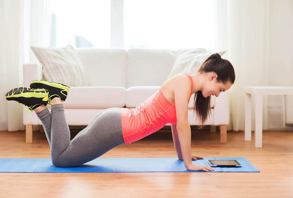 5 ejercicios para hacer en casa antes de la playa