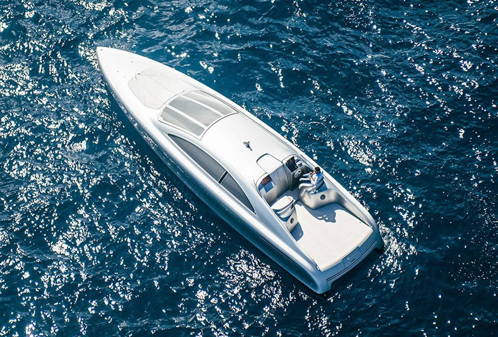 Silver Arrow of the Seas: El nuevo yate de lujo de Mercedes-Benz