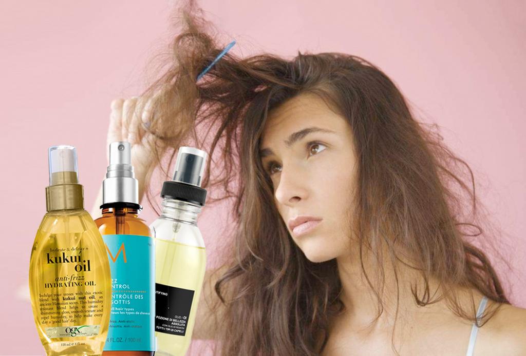 10 aceites anti-frizz que mantendrán el pelo en su lugar