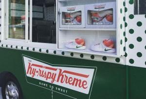 Nike y Krispy Kreme juntos en una original colaboración