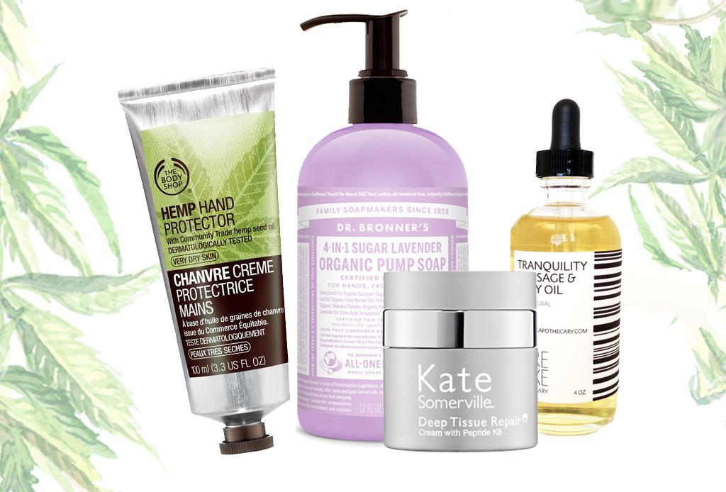 10 productos de belleza hechos con cannabis