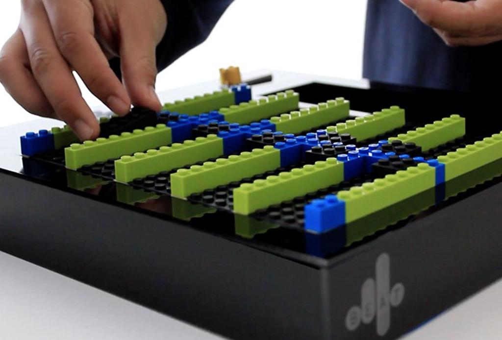 Ya puedes construir tu propio teclado con LEGO