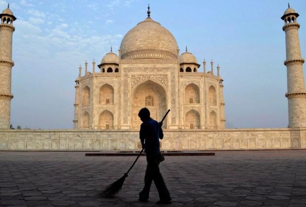 10 datos del Taj Mahal que probablemente no conocías - trabajadores-1024x694