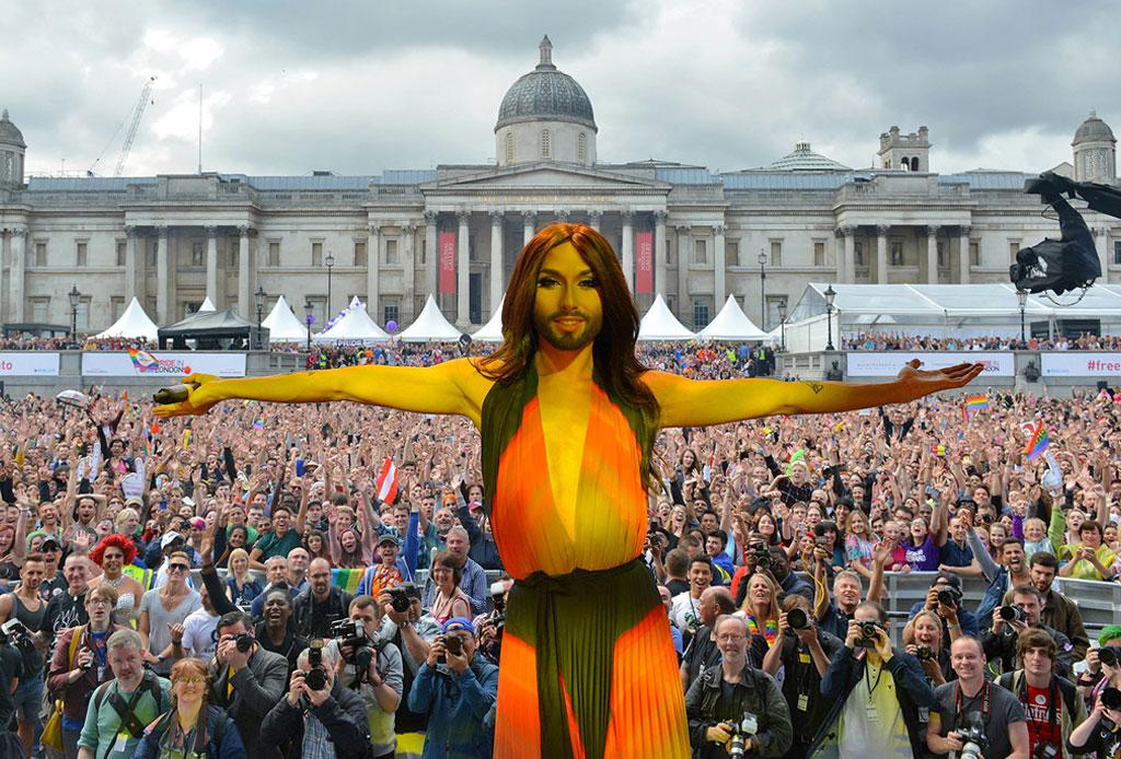 8 ciudades para celebrar el #PrideWeekend - conchita-worst-london-pride