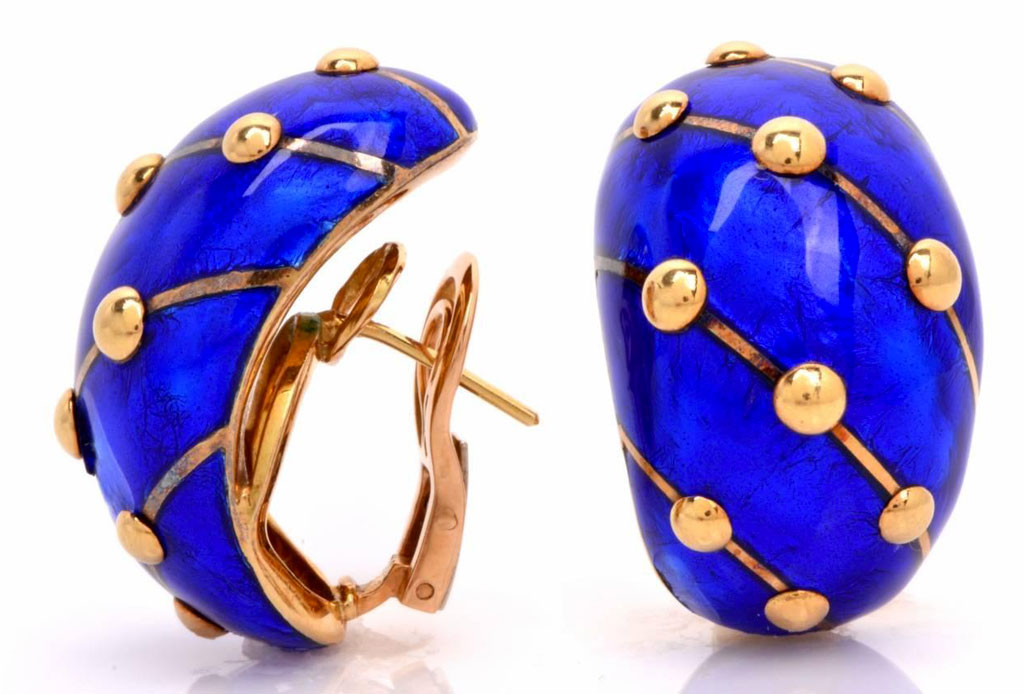 El estilo de Jackie Kennedy a través de sus joyas - banana-earrings