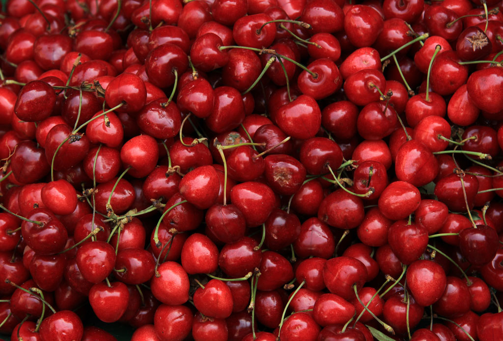 3 smoothies para ganar masa muscular - cerezas