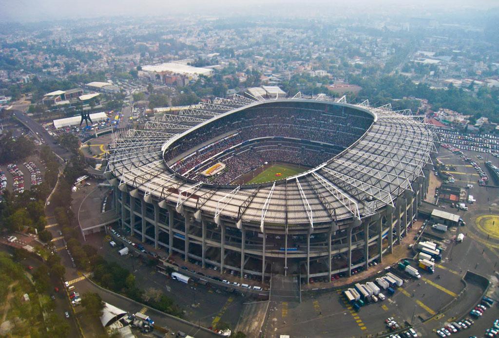 42 lugares para un inolvidable tour arquitectónico por la CDMX - estadio-azteca