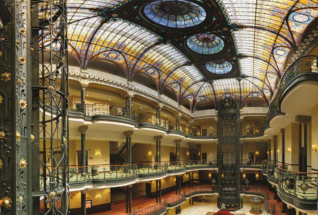 42 lugares para un inolvidable tour arquitectónico por la CDMX - gran-hotel