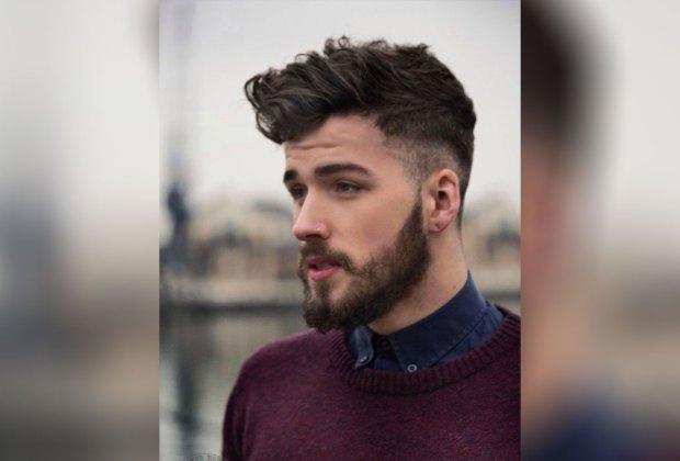 Peinados hombre hacia delante