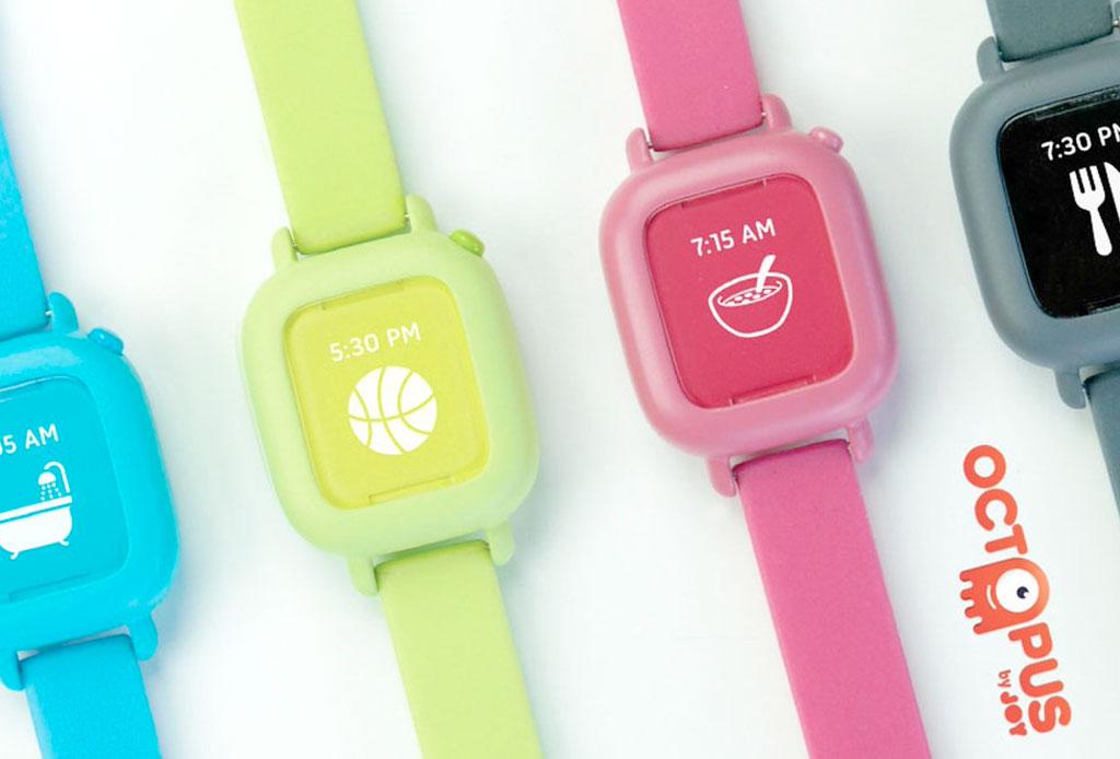 Un reloj inteligente que ayudará a tu hijo a mejorar sus hábitos - octopus-reloj-para-ninos-2