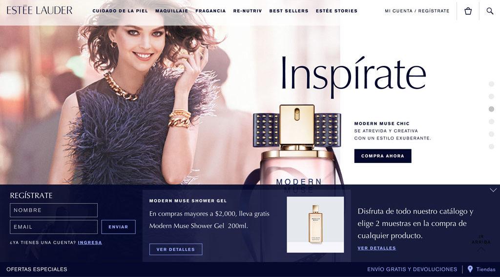 Estée Lauder nos presenta su nueva tienda online en México - plantillath-e1468601130528