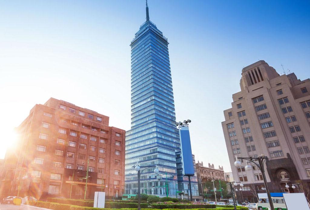 42 lugares para un inolvidable tour arquitectónico por la CDMX - torre-latino