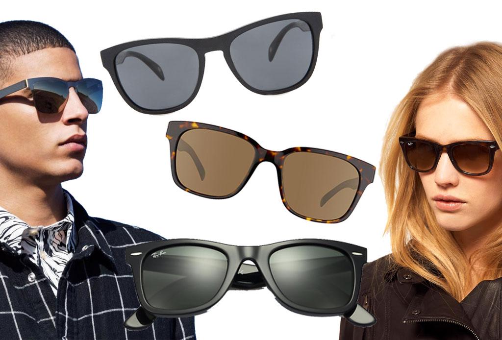 6 estilos de lentes oscuros para acompañar el verano - warfare
