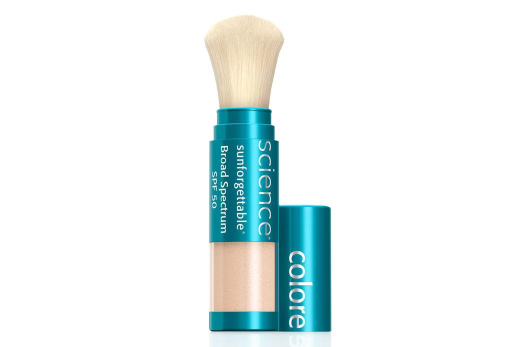 Sunforgettable: Protección solar encima del maquillaje - bloqueador-solar-en-polvo
