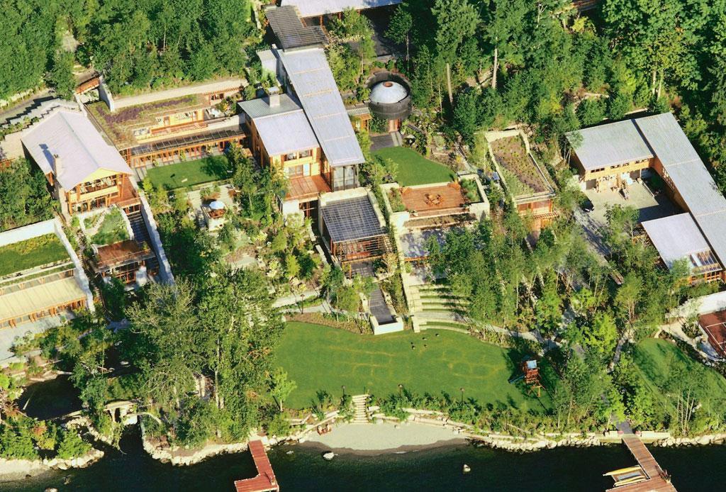11 datos que no sabías de la casa de Bill Gates